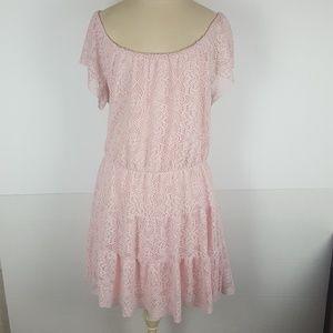 Gorgeous Sz 1X Floral Crochet Off Shoulder Dress